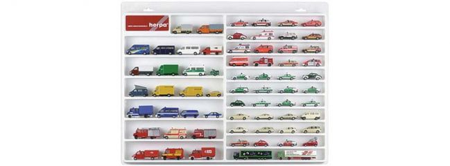 herpa 029209 Schaukasten für PKW und Keintransporter weiss 1:87