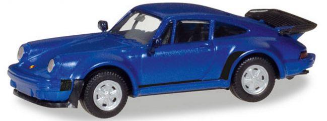 herpa 030601-002 Porsche 911 Turbo blaumetallic | Automodell 1:87