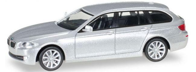 herpa 034401-005 BMW 5er Touring silber metallic | Automodell 1:87