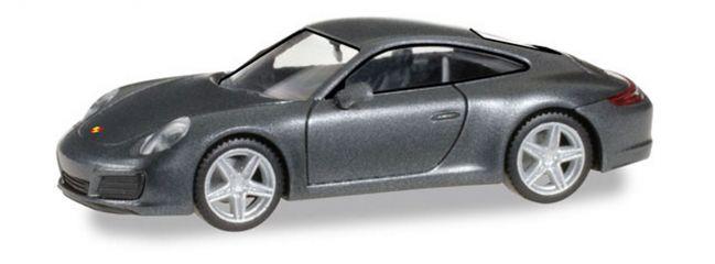 herpa 038645 Porsche 911 Carrera 4 achatgrau-metallic Automodell 1:87