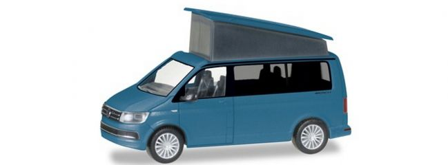 herpa 038744 VW T6 California starlightblue metallic Automodell 1:87