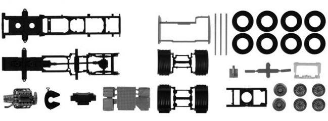 herpa 084796 TS 2x FG Scania CS/CR 6x2 m. Verkleidung | LKW-Bausatz 1:87