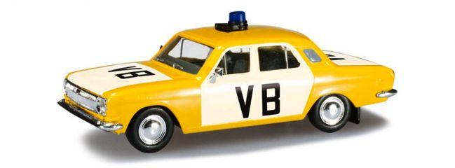"""herpa 090742 Wolga M24 """"Polizei CZ"""", Blaulichtmodell 1:87"""