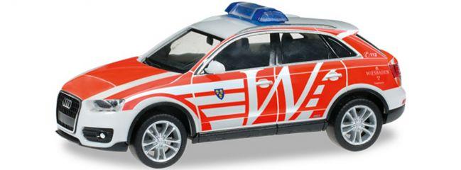"herpa 091459 Audi Q3 ELW ""FW Wiesbaden"" Blaulichtmodell 1:87"