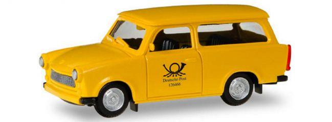 herpa 093095 Trabant 601 Universal Deutsche Post  Automodelll 1:87