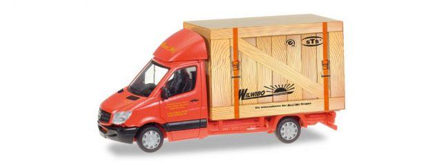herpa 093286 Mercedes-Benz Sprinter Koffer Spedition Wirtz Automodell 1:87