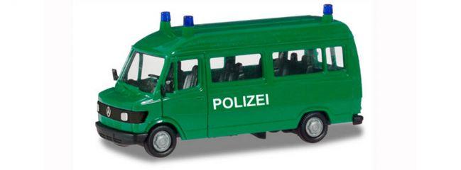 herpa 094139 Mercedes-Benz T1 Bus Polizei Blaulichtmodell BASIC-Modell 1:87