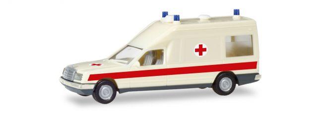 herpa 094153 Mercedes-Benz Miesen KTW DRK Rettungsdienst neutral BASIC Blaulichtmodell 1:87