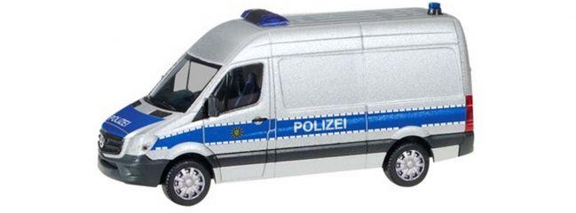 herpa 094238 Mercedes-Benz Sprinter HD Transporter Polizei Sachsen Blaulichtmodell 1:87