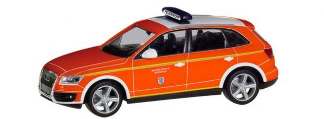 herpa 094344 Audi Q5 Kommandowagen Feuerwehr Ingolstadt Blaulichtmodell 1:87