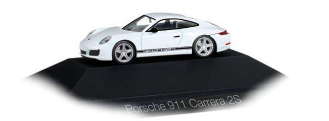 herpa 101967 Porsche 911 Carrera 2S PORSCHE PC Automodell 1:87