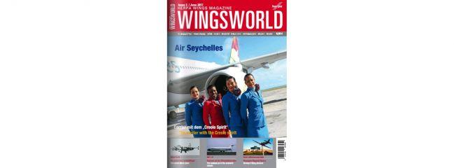 herpa WINGS 207959 WingsWorld 3/2017 Fachmagazin Miniaturflugzeugmodelle