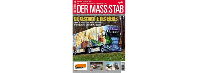 herpa 208369 Der MASS:STAB | Magazin Ausgabe 1/2018