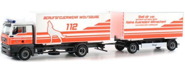 herpa 304887 MAN TGA XL WeKoHzg FW Wolfsburg | Blaulichtmodell 1:87 online kaufen