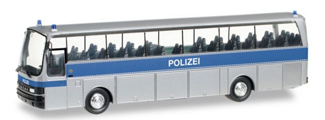 herpa 306225 Setra S215 Bus Polizei NRW Blaulichtmodell 1:87