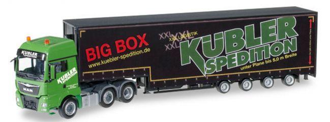herpa 306553 MAN TGX XXL 6x2 MeusburgerSattelzug Kübler Spedition LKW-Modell 1:87