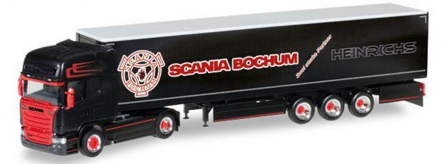 herpa 306669 Scania R 2013 TL Gardinenplanen-Sattelzug Heinrichs LKW-Modell 1:87