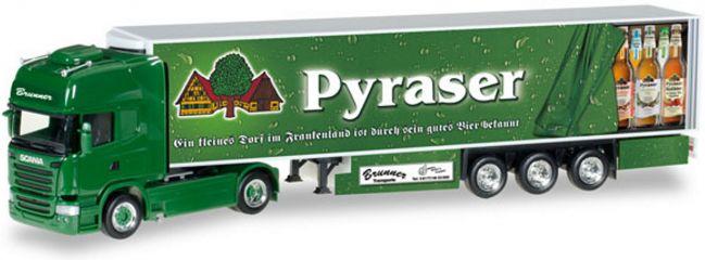 herpa 306874 Scania R TL KKoSzg Brunner Pyraser | LKW-Modell 1:87