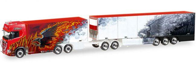 herpa 308489 Scania CS 20 Eurocombi Ristimaa Fire Bird | LKW-Modell 1:87