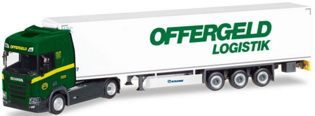 herpa 308755 Scania CR HD KüKo Szg Offergeld Logistik   LKW-Modell 1:87