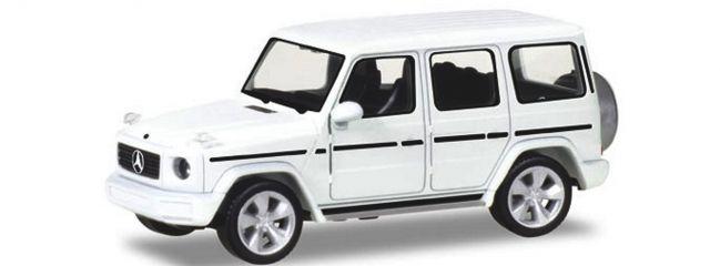 herpa 420280 Mercedes-Benz G-Modell C463 polarweiss Automodell 1:87