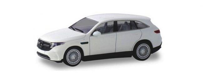 herpa 420426 Mercedes-Benz EQC AMG polarweiss Automodell Spur H0