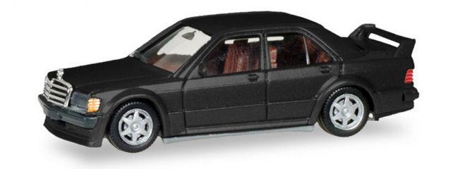 herpa 430654 Mercedes-Benz 190E 2,5 16 schwarzmetallic Automodell 1:87