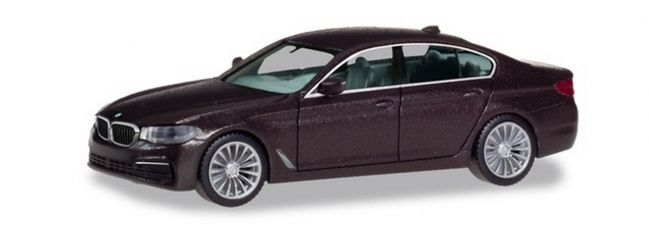 herpa 430692 BMW 5er G30  Limousine Jatoba metallic Automodell 1:87