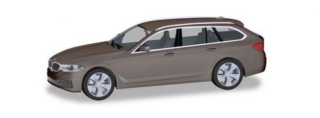 herpa 430708 BMW 5er G31 Touring atlaszeder-metallic Automodell 1:87