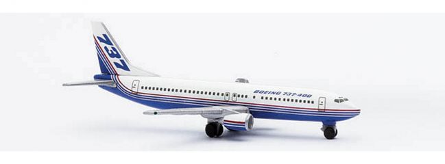 herpa 501293 Boeing 737-400 Boeing Flotte Flugzeugmodell 1:500