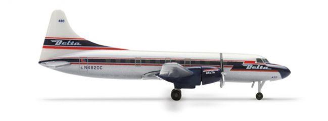 herpa 507097 Convair CV-440 Delta Air Lines Flugzeugmodell 1:500