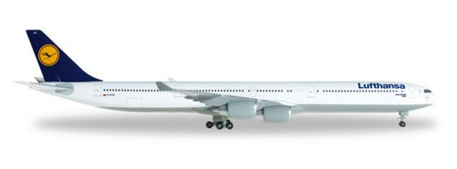 herpa 507417-003 Airbus A340-600 Lufthansa Flugzeugmodell 1:500