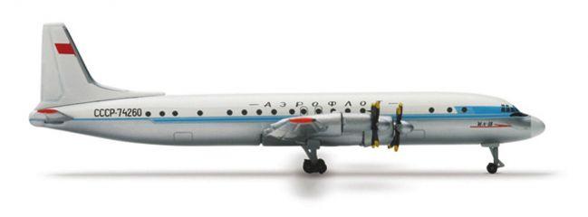 herpa 508179 Ilyushin IL-18 Aeroflot Flugzeugmodell 1:500