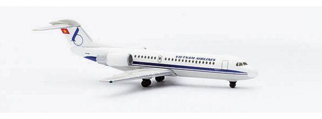 herpa 509282 Fokker70 Vietnam Airlines Flugzeugmodell 1:500