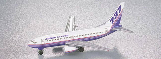 herpa 511063 Boeing 737-700 Boeing Flotte Flugzeugmodell 1:500