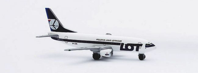 herpa 511926 Boeing 737-300 LOT Polish Airlines Flugzeugmodell 1:500