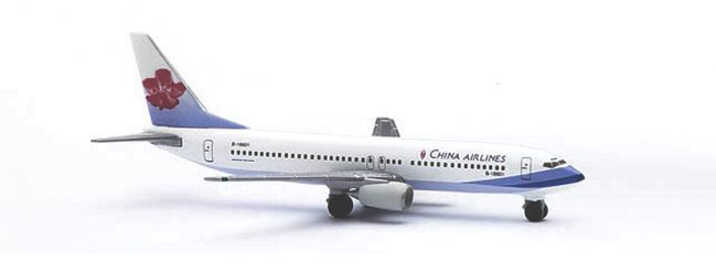 herpa 511940 Boeing 737-800 China Airlines Flugzeugmodell 1:500