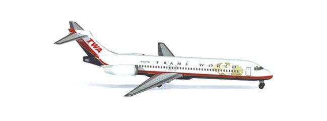 herpa 512374 Boeing 717-200 TWA Flugzeugmodell 1:500
