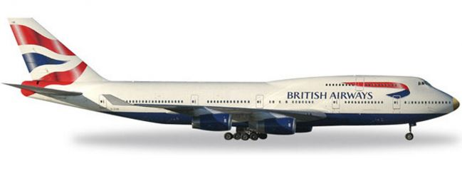 herpa 512497-003 B747-400 BA G-CIVA victoRiOus | WINGS 1:500
