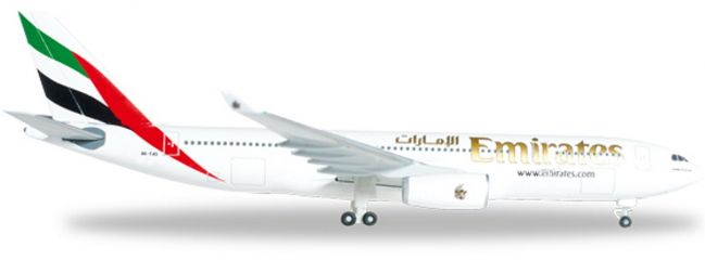 "herpa 514132-001 A330-200 Emirates ""A6-EAS"" WINGS 1:500"