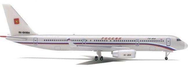 herpa 514453 Tupolev Tu-214 Russia State Transport Company Flugzeugmodell 1:500