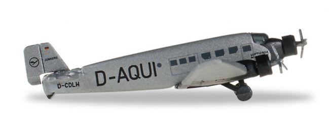 herpa 516709 Junkers JU-52 Lufthansa Flugzeugmodell 1:500