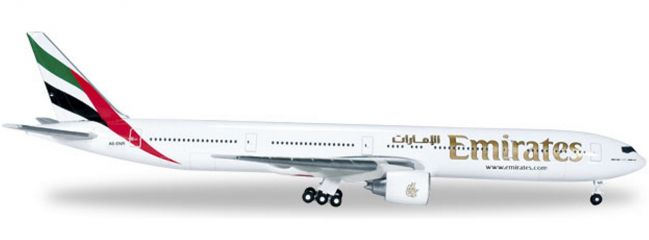 herpa 518277-002 B777-300ER Emirates A6-ENR WINGS 1:500