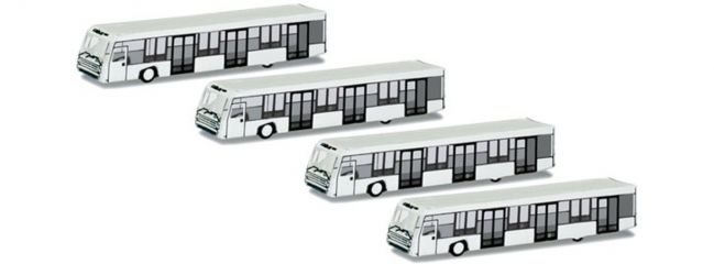 herpa 521000 Airport Bus Set Wings 1:500