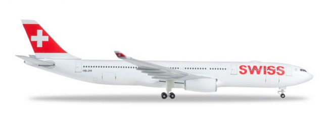herpa 523134-003 Airbus A330-300 Swiss International Air Lines Geneve Flugzeugmodell 1:500