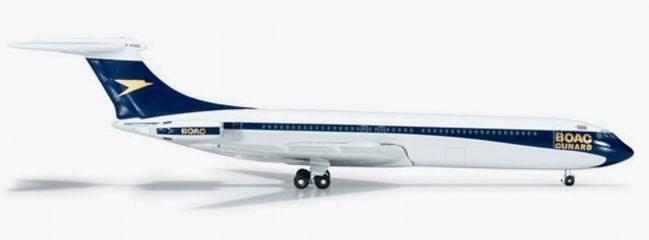 herpa 523684 Vickers Super VC10 BOAC-Cunard WINGS-Modell 1:500
