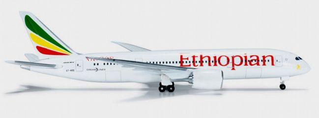 ausverkauft | herpa 523790 B787-8 Ethiopian Airlines WINGS-Modell 1:500