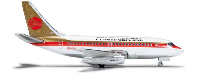 herpa 523981 B737-100 Continental Airlines Wings 1:500