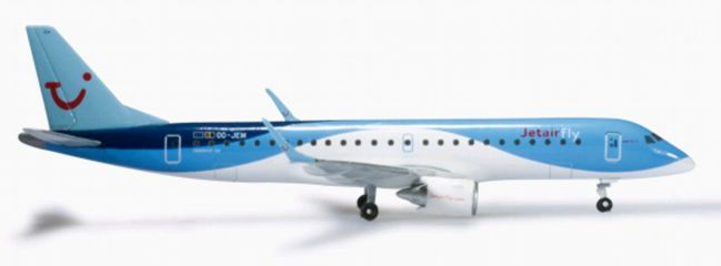"""herpa 524926 Embraer E190 Jetairfly """"Explorer"""" WINGS 1:500"""