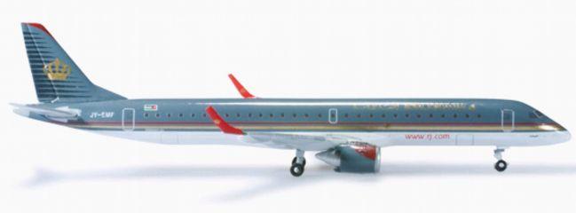 herpa 524940 E195 Royal Jordanian Airlines WINGS 1:500